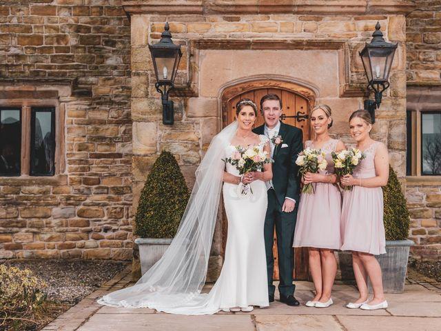 James and Natalie's wedding in Blackburn, Lancashire 1
