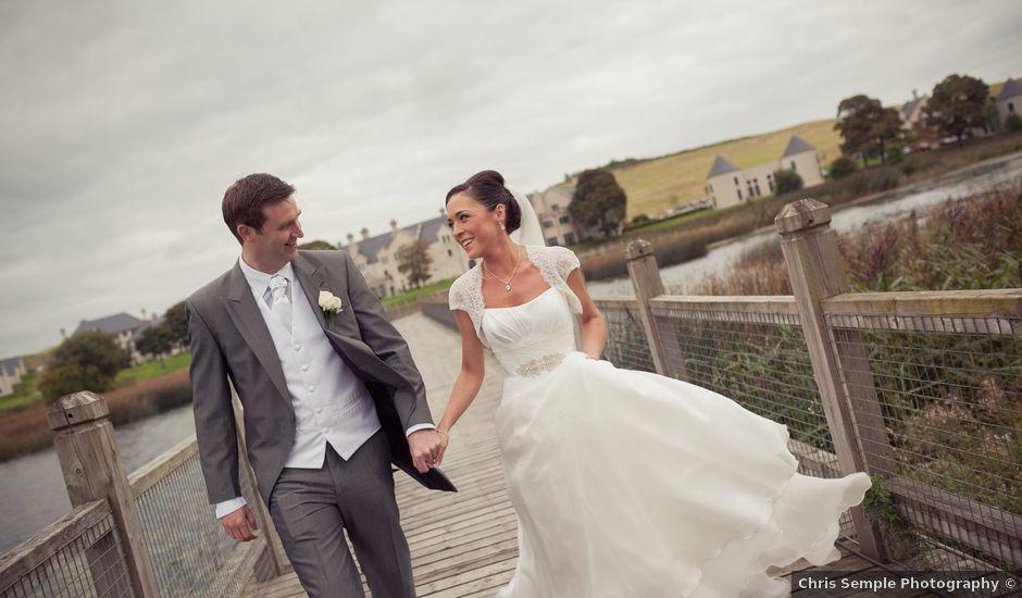 Gareth and Anna's wedding in Enniskillen, Fermanagh