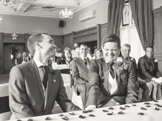 John & Iain's wedding 1