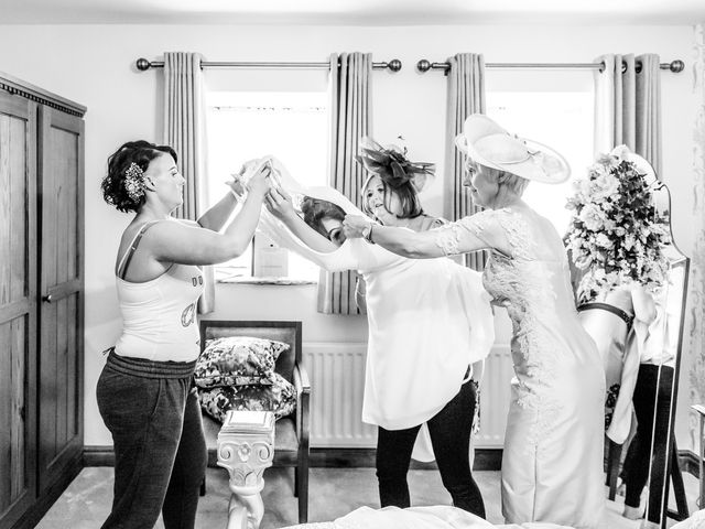Ross and Samantha's wedding in Preston, Lancashire 5