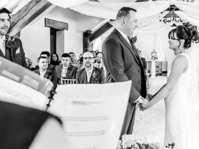 Ross and Samantha's wedding in Preston, Lancashire 10