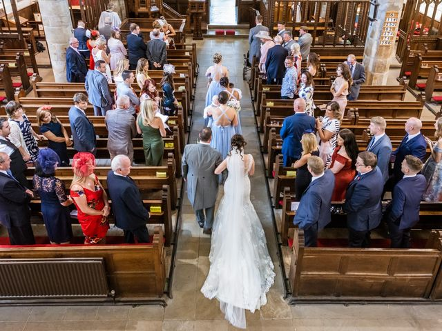 Daniel and Amy's wedding in Whalley, Lancashire 4