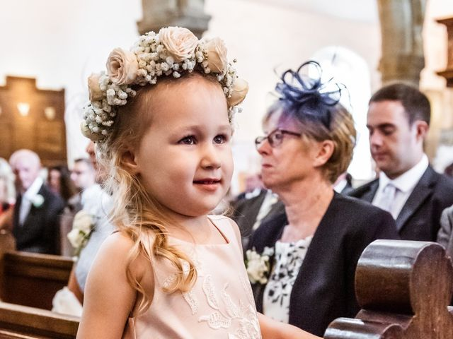 Daniel and Amy's wedding in Whalley, Lancashire 8