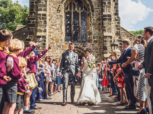 Daniel and Amy's wedding in Whalley, Lancashire 9