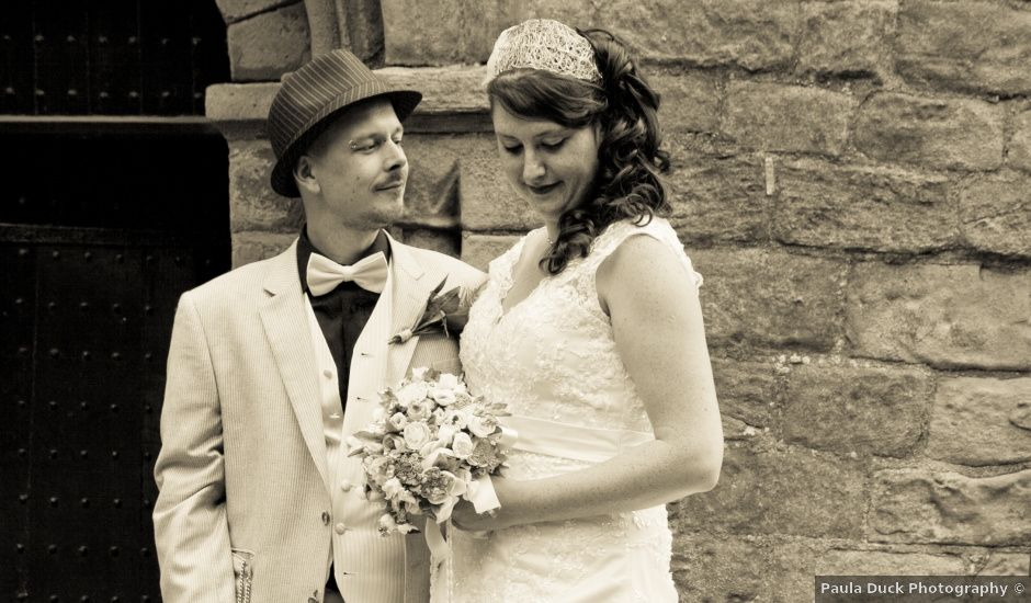 Nathan and Fran's wedding in Masham, North Yorkshire