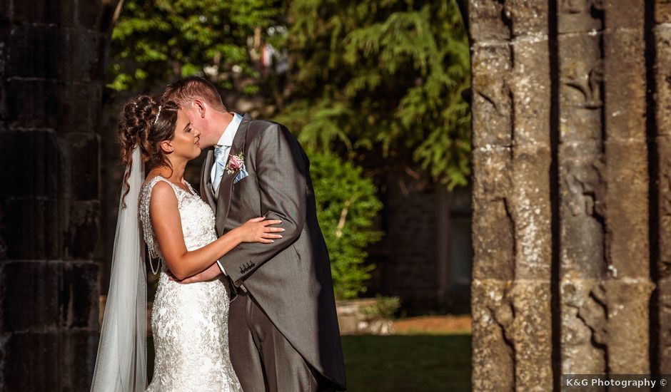 Daniel and Amy's wedding in Whalley, Lancashire