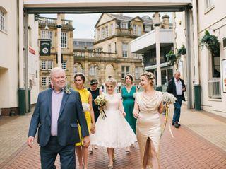 Kat & Iain's wedding