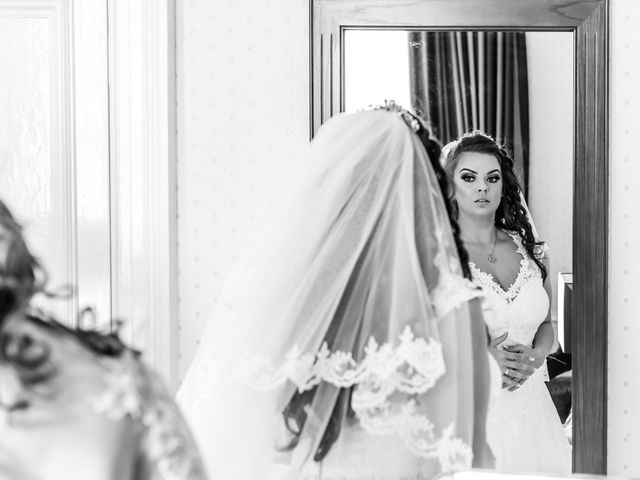 Kirk and Melissa's wedding in Burnley, Lancashire 5