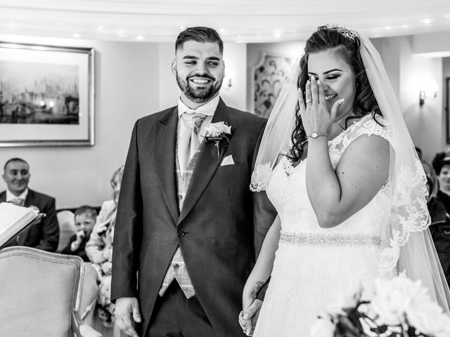 Kirk and Melissa's wedding in Burnley, Lancashire 10