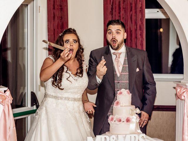 Kirk and Melissa's wedding in Burnley, Lancashire 1