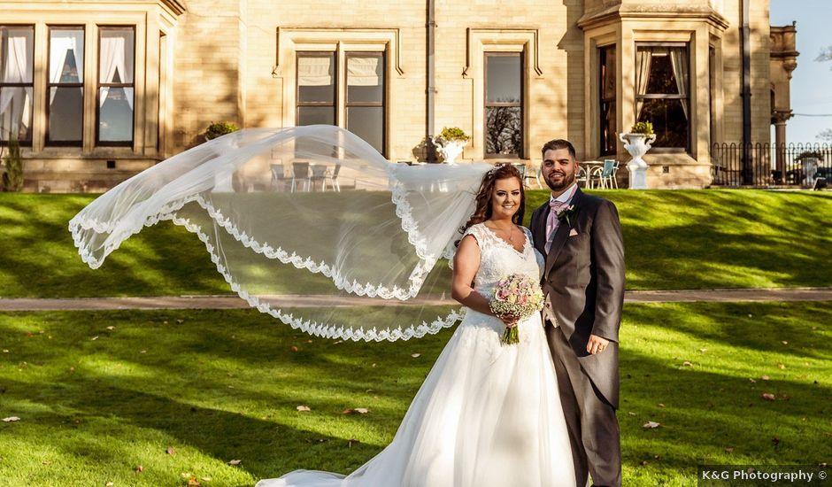 Kirk and Melissa's wedding in Burnley, Lancashire