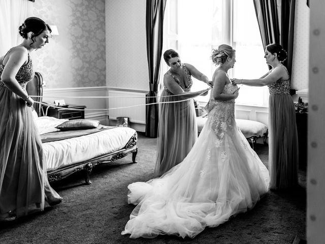 Hudson and Jenna's wedding in Burnley, Lancashire 9