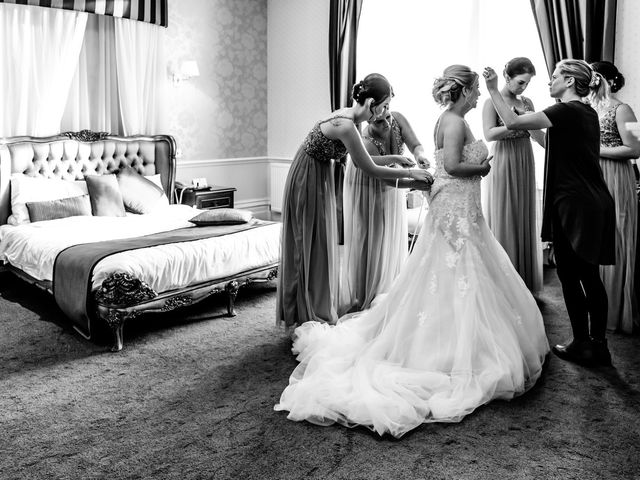 Hudson and Jenna's wedding in Burnley, Lancashire 10