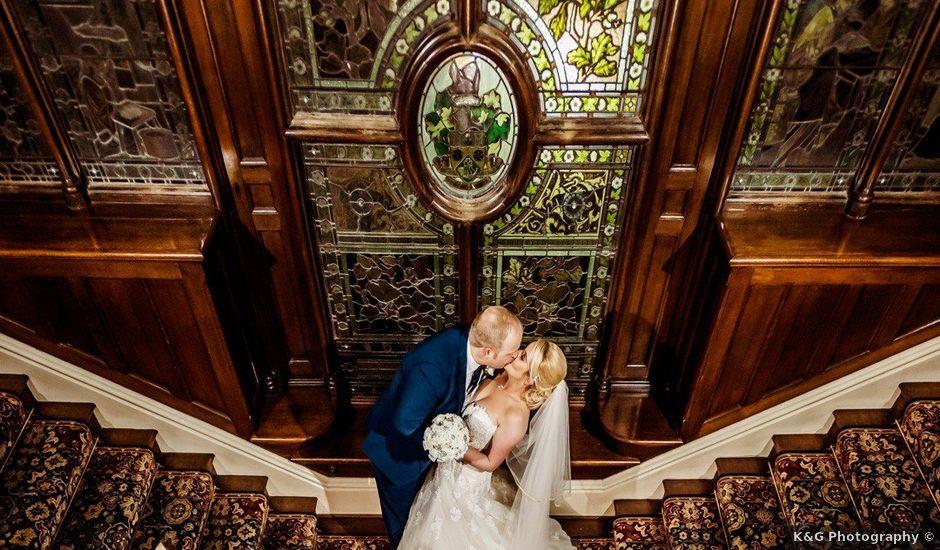 Hudson and Jenna's wedding in Burnley, Lancashire