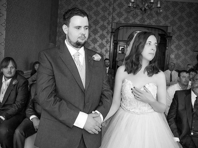 Michael and Elizabeth's wedding in Aberystwyth, Ceredigion 2