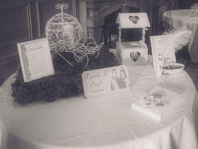 Paul and Lynda's wedding in Kilbirnie, North Ayrshire 1