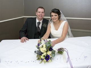 Claire & Mark's wedding