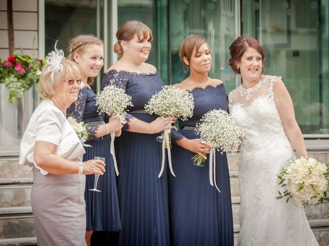 Peter and Clare's wedding in Manchester, Greater Manchester 1