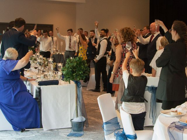 Peter and Clare's wedding in Manchester, Greater Manchester 4