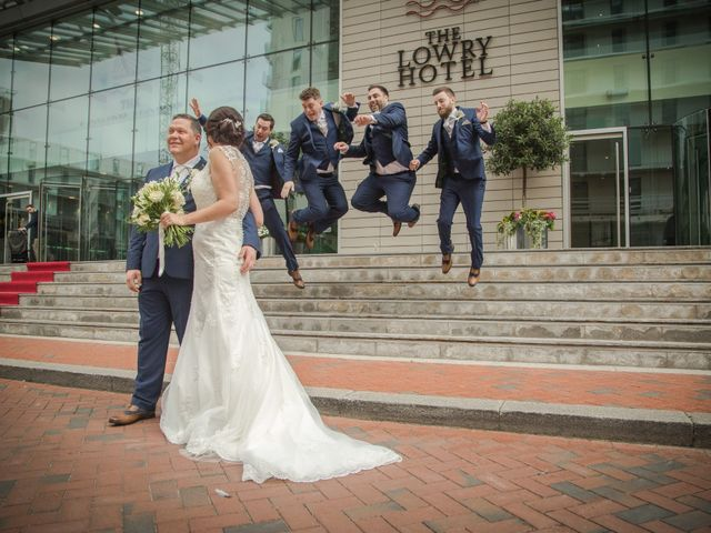 Peter and Clare's wedding in Manchester, Greater Manchester 2