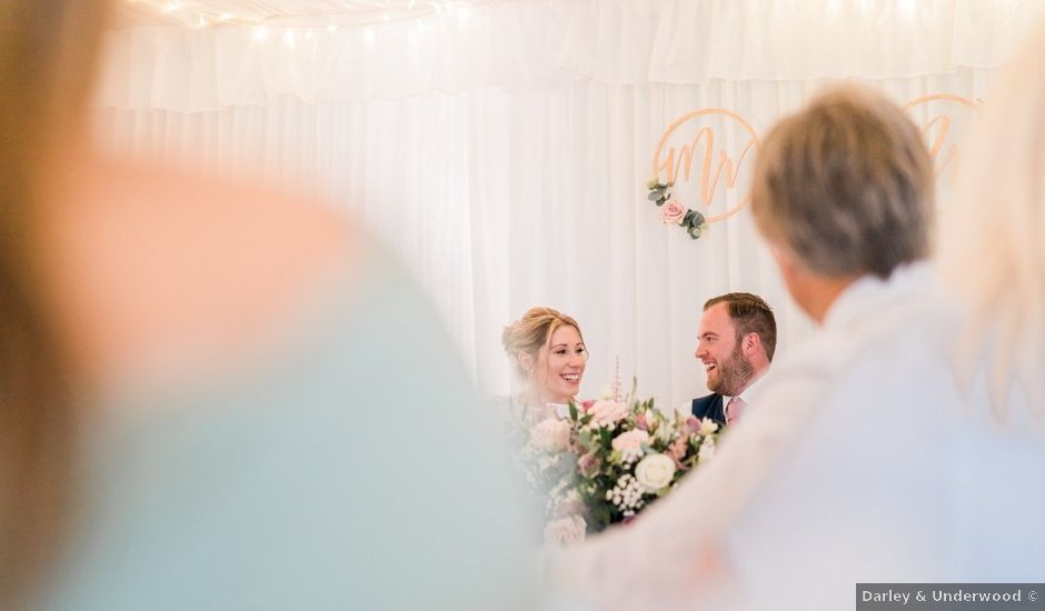 Leigh and Kirsty's wedding in Rugby, Warwickshire