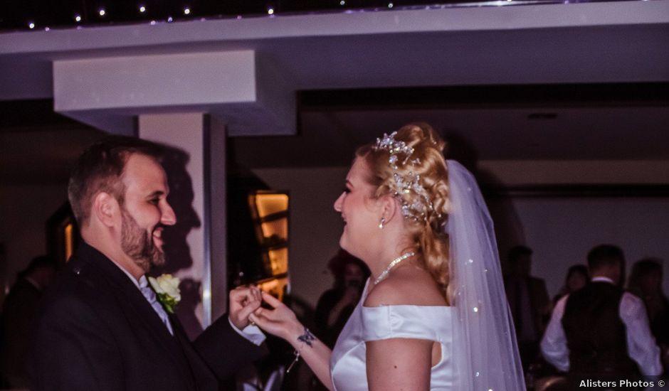 Mark Barrett and Adelle's wedding in East Kilbride, South Lanarkshire