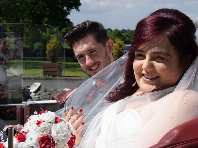 Scott Lindsay and Kimberly's wedding in Motherwell, North Lanarkshire 2