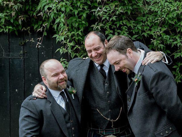Ross and Lynne's wedding in Edinburgh, City of Edinburgh 10