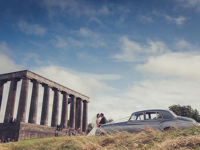 Ross and Lynne's wedding in Edinburgh, City of Edinburgh 1