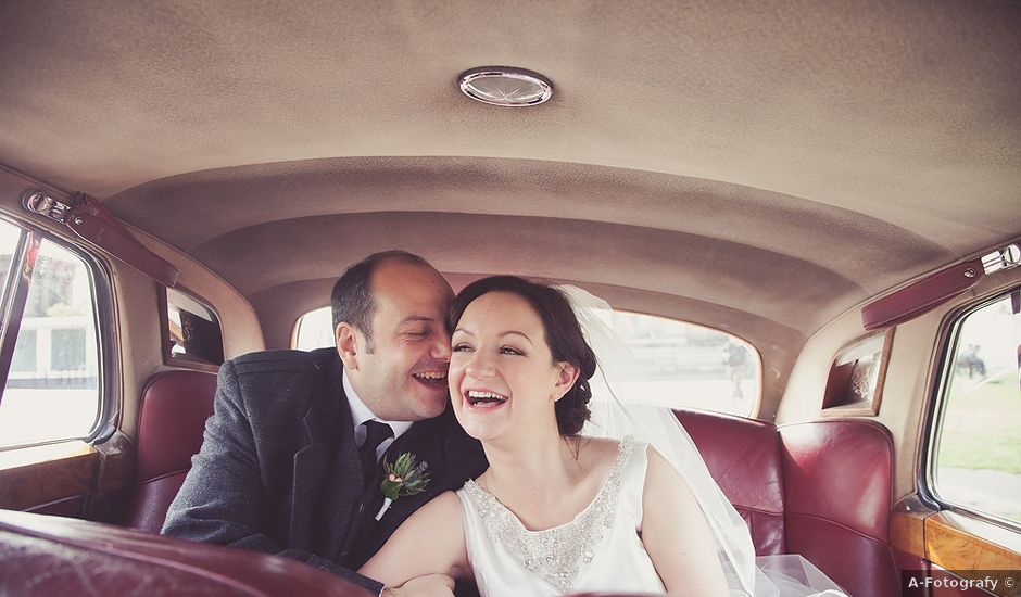 Ross and Lynne's wedding in Edinburgh, City of Edinburgh