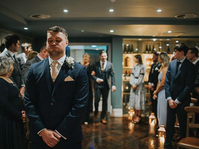 Amy and Allan's wedding in Manchester, Greater Manchester 8