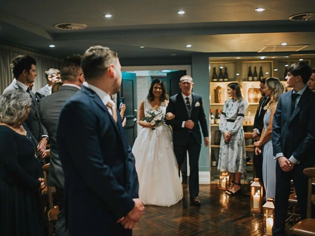 Amy and Allan's wedding in Manchester, Greater Manchester 9