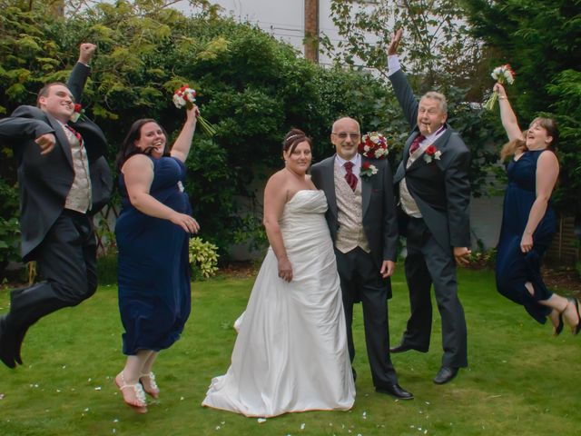 Mark and Mel's wedding in Great Yarmouth, Norfolk 1