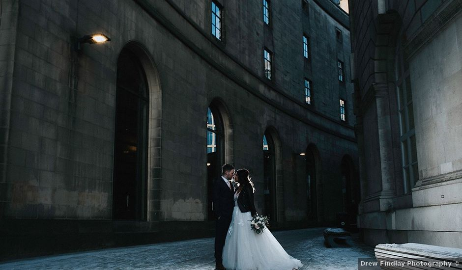 Amy and Allan's wedding in Manchester, Greater Manchester