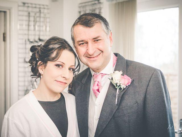Richard and Natalie's wedding in Staverton, Northamptonshire 8