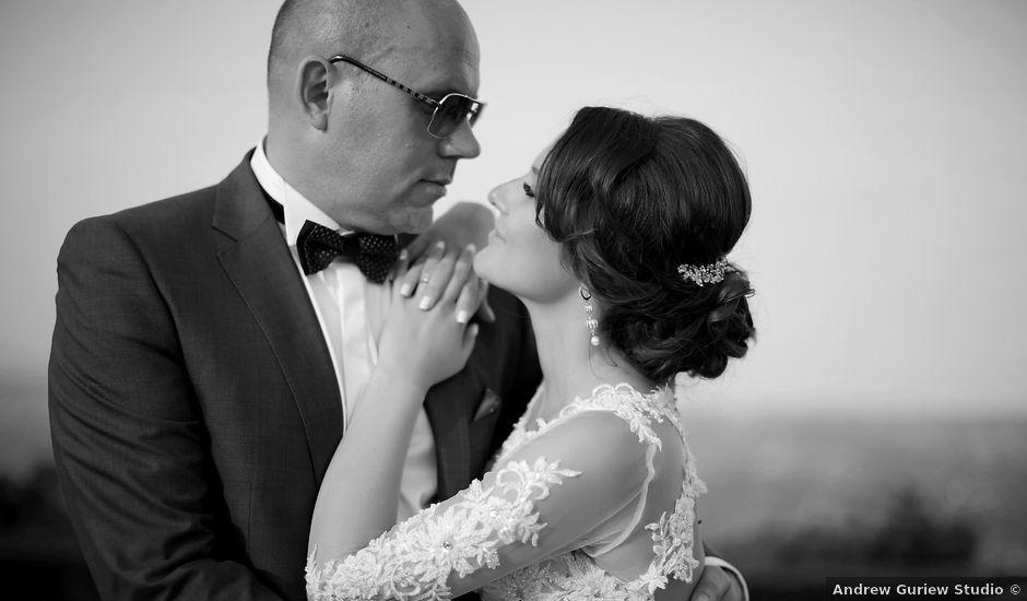 Oksana and Juri's wedding in Jersey, Jersey