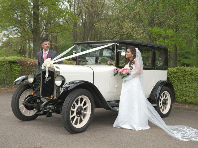 John and Krina's wedding in Hemel Hempstead, Hertfordshire 1