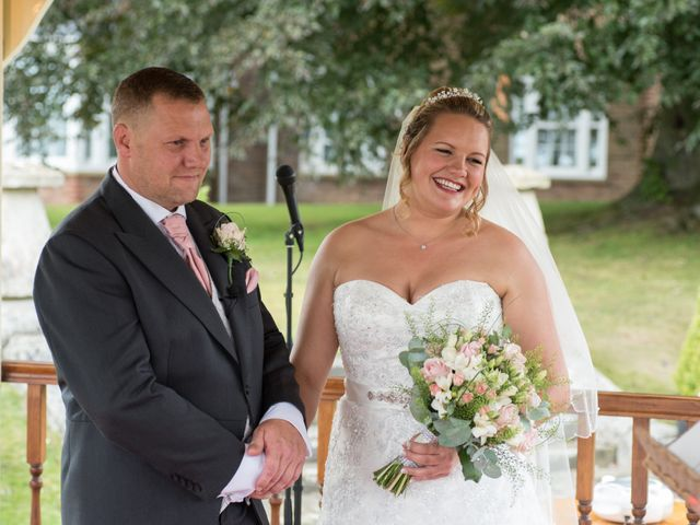 Sophie and John's wedding in Nottingham, Nottinghamshire 6