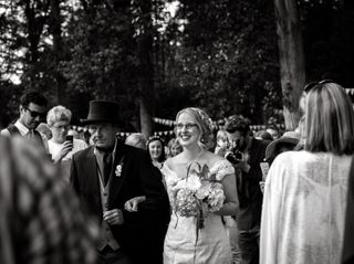 John and Lexi's wedding in Denbigh, Denbighshire 3
