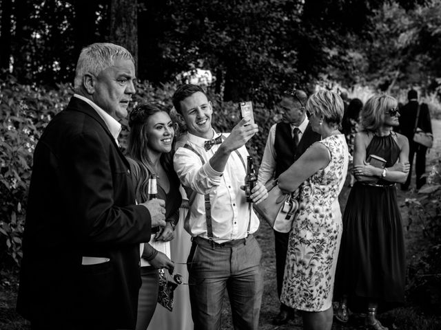 John and Lexi's wedding in Denbigh, Denbighshire 1