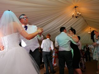 Eifion and Justine's wedding in Ruthin, Denbighshire 3