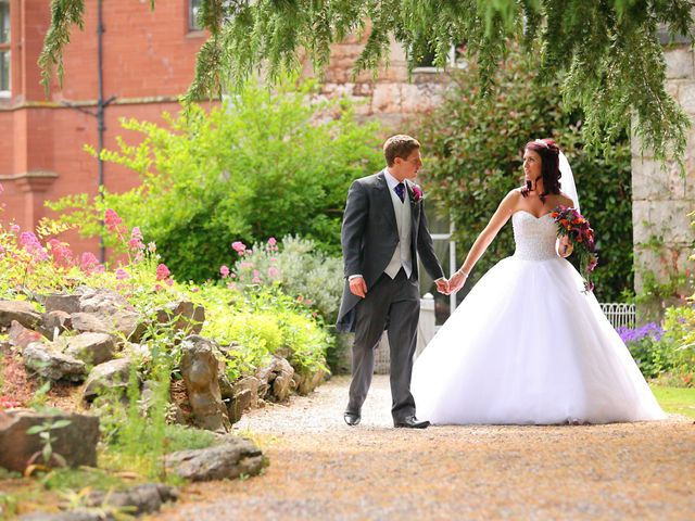 Eifion and Justine's wedding in Ruthin, Denbighshire 1