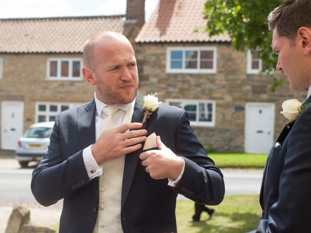 Joe and Kat's wedding in Easingwold, North Yorkshire 2