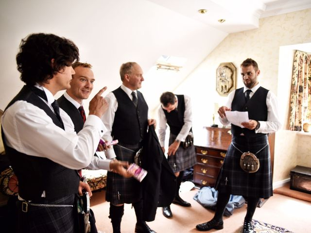 Martin and Mitzi's wedding in Craobh Haven, Argyll and Bute 7