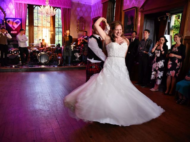 Martin and Mitzi's wedding in Craobh Haven, Argyll and Bute 2