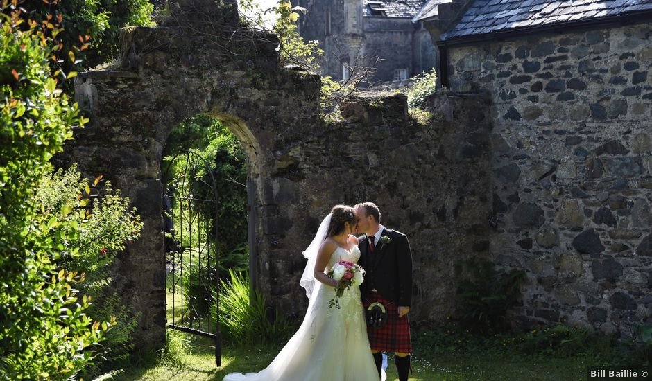 Martin and Mitzi's wedding in Craobh Haven, Argyll and Bute