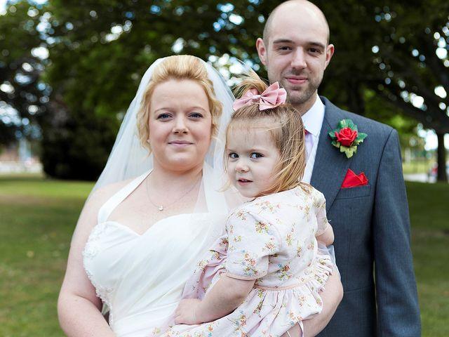 Craig and Vicki's wedding in Reading, Berkshire 1