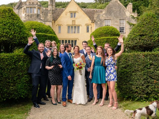 Owen and Fay's wedding in Owlpen, Gloucestershire 2