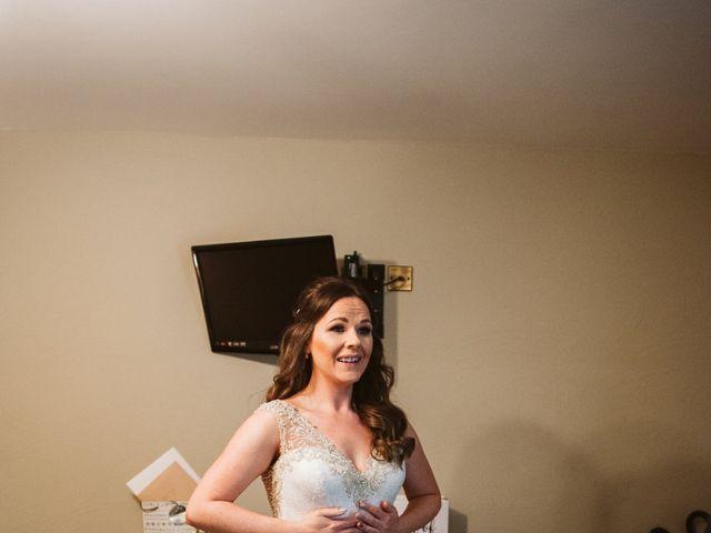 Kieran and Kayley's wedding in Eaton, Cheshire 7