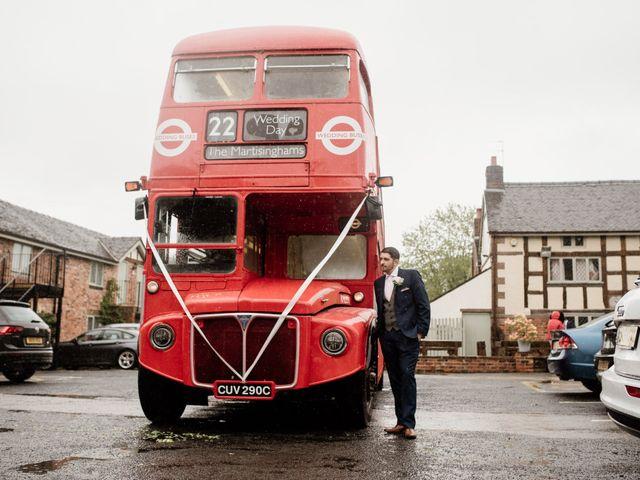 Kieran and Kayley's wedding in Eaton, Cheshire 10